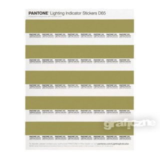 PANTONE. Lighting Indicator Stickers D65